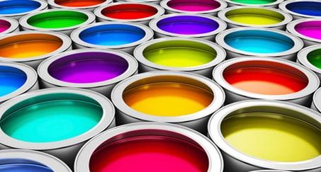 رنگ در چاپ تامپو
