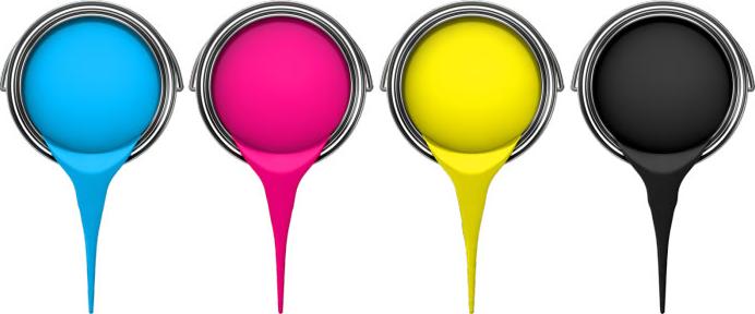 رنگ های چاپ سیلک