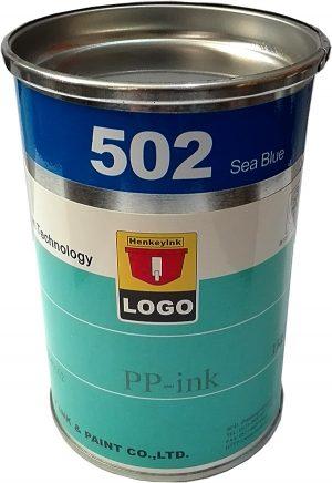 رنگ pp آبی